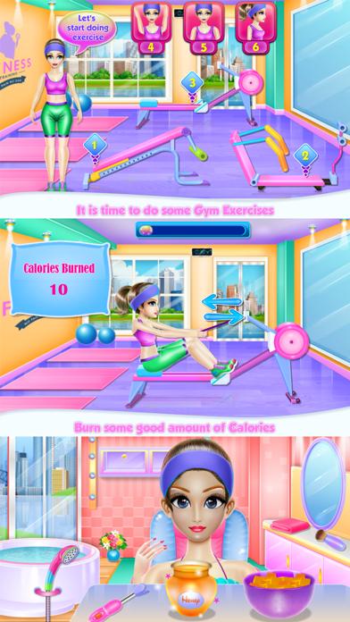 Nerdy Girl in the Gym Screenshot