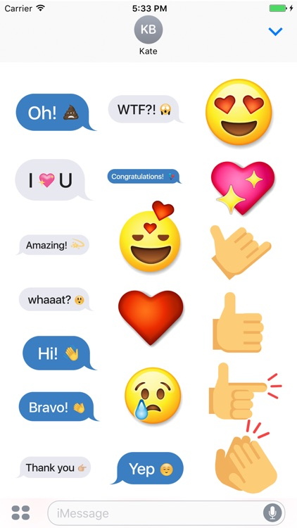 The Complete Emoji Stickers Pack