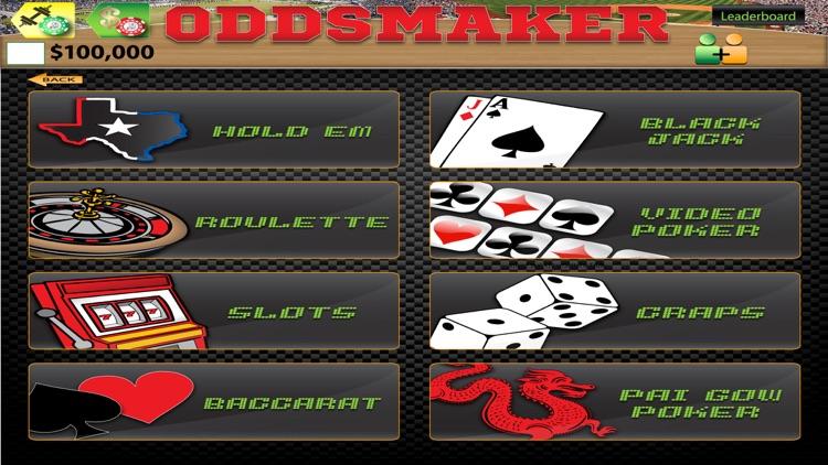 Oddsmaker: SportsCasino screenshot-5