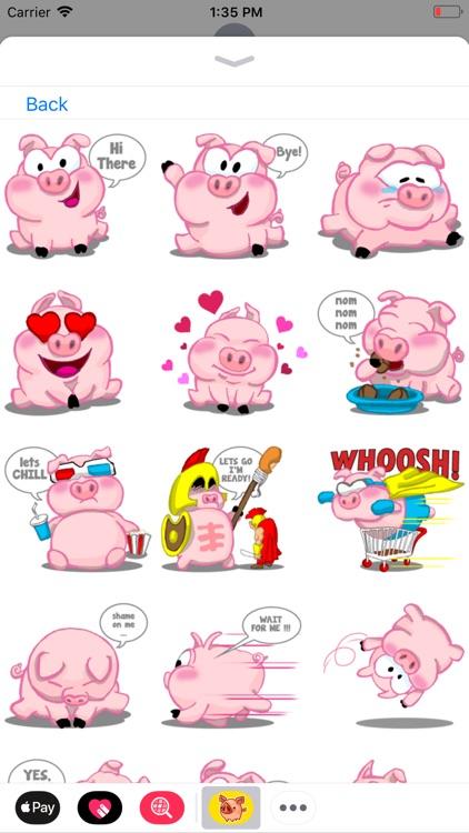 Piggy Stickers Collection screenshot-6