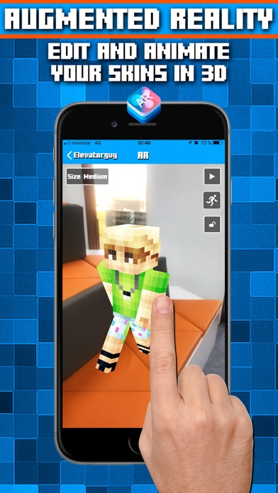 Skins AR for Minecraft screenshot one