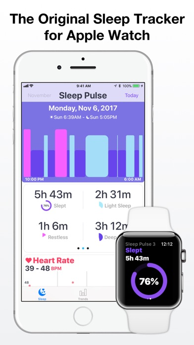 Sleep Pulse 3 - Sleep Tracker app image