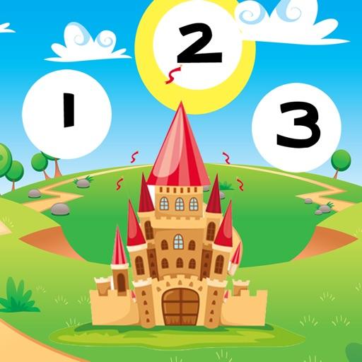 123 活躍! 遊戲,學習計數 兒童用 童話故事