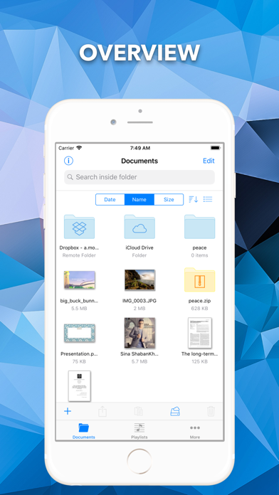 File Manager by Mousavian by Ali Tourchi (iOS, United States
