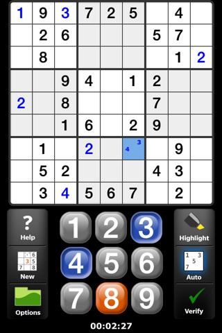 Satori Sudoku screenshot 1