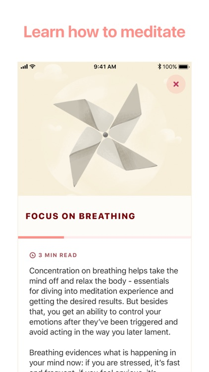 Meditation & Sounds by Verv screenshot-6