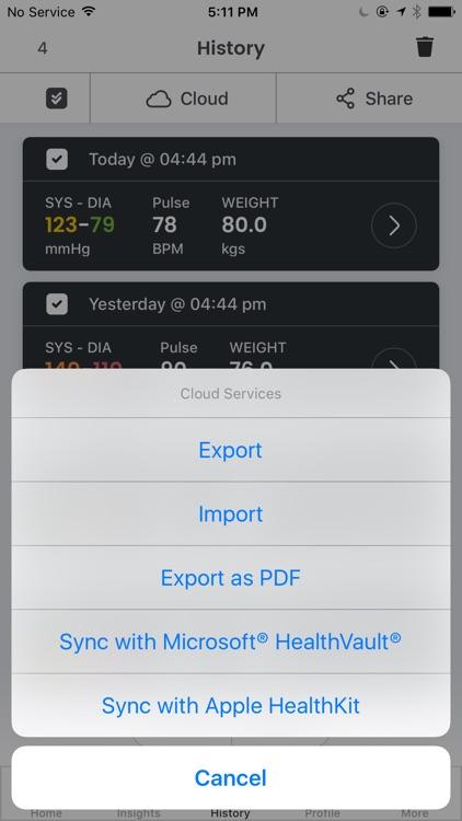 Smart Blood Pressure- SmartBP screenshot-4