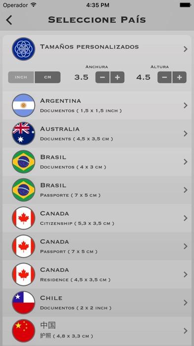 Screenshot for Fotos de Carnet Pro in Ecuador App Store