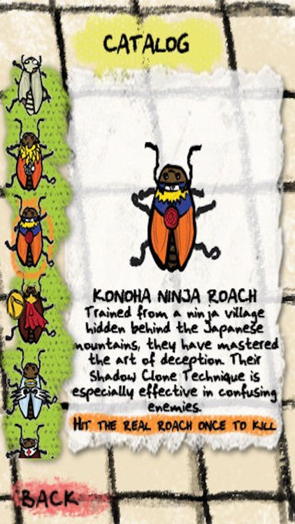 Cartoon Roach - Fun Ninja Game screenshot-4