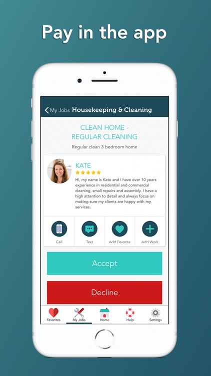 Takl - Home Services On Demand screenshot-3