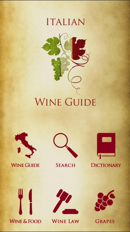 Italian Wine Guide iPhone