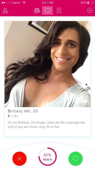 free trans dating app