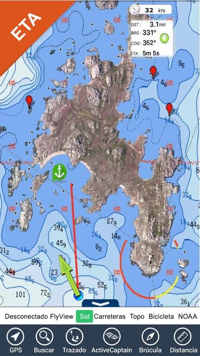 Grecia Cartas Náuticas GPS HDCaptura de pantalla de6