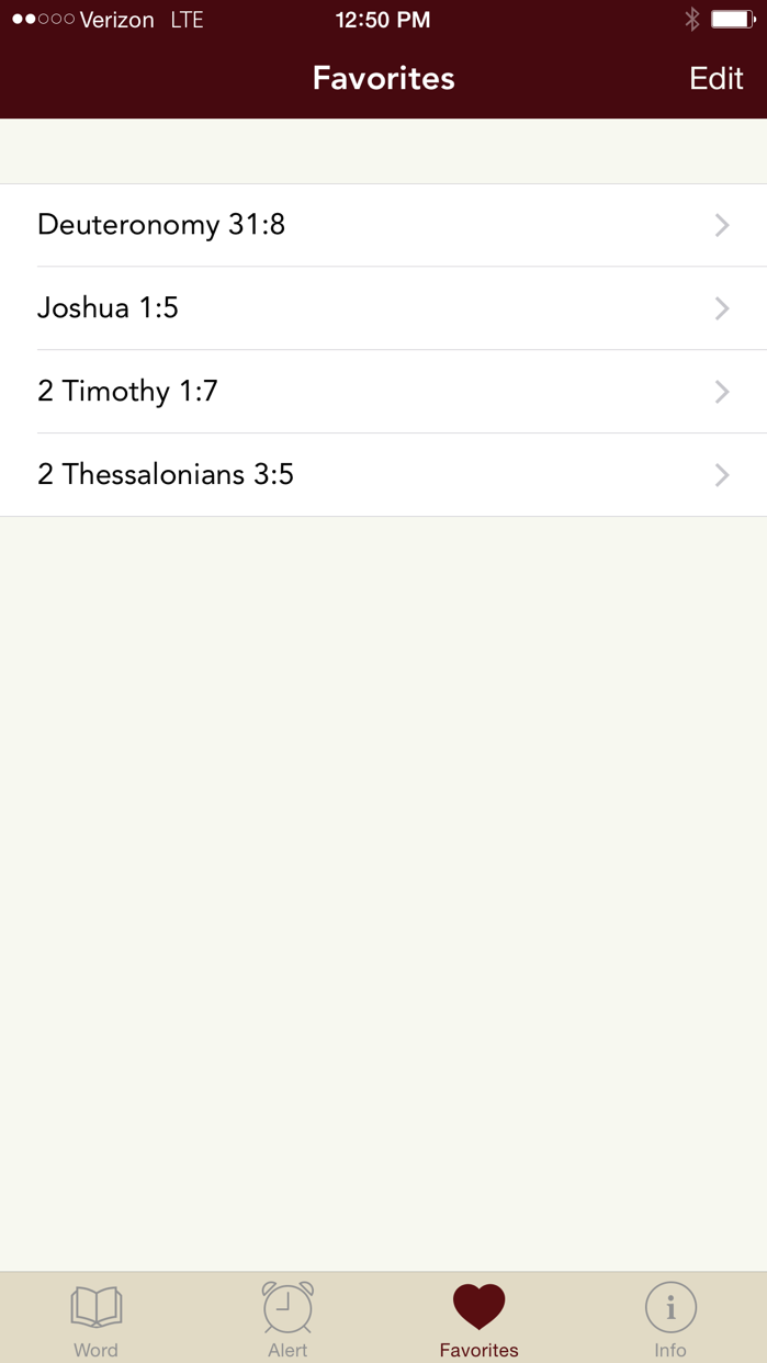 Word Alert: Daily Bible Verses Screenshot