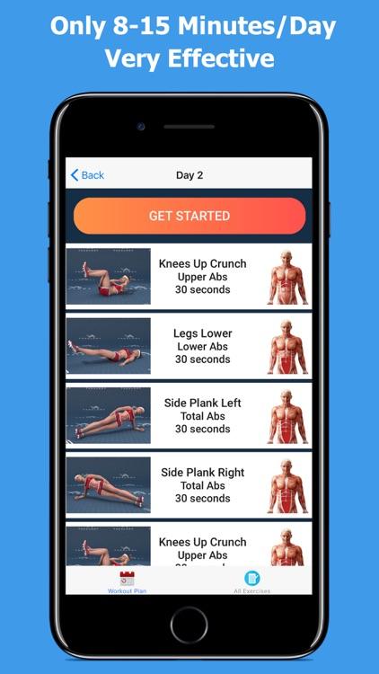 Lose Belly Fat - Flat Stomach screenshot-4