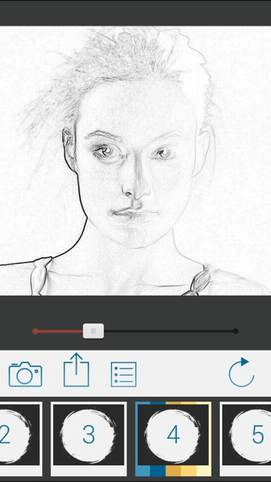 Screenshot #1 for Photo To Pencil Sketch Drawing