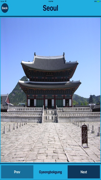 Seoul South Korea Tourist