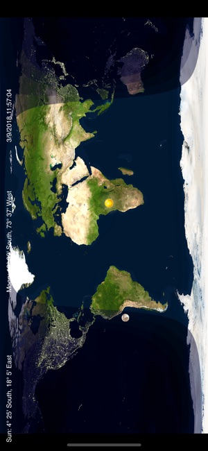 Day night world map on the app store gumiabroncs Image collections