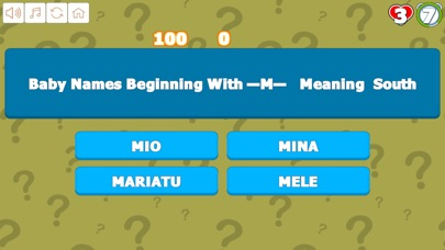 Quiz Your Baby Names M to R screenshot 2