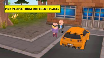 Blocky Taxi Drive Simulator 3Dのスクリーンショット4