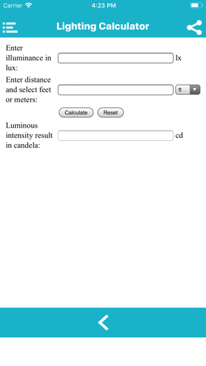 Lighting Calculation on the App Store
