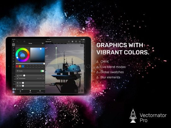 Vectornator Pro Screenshots