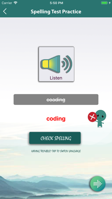 Literacy Spelling Practise screenshot 5