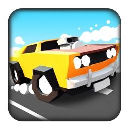 城市赛车:疯狂撞头开车游戏