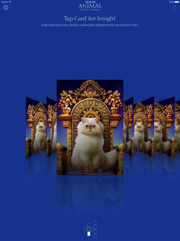 Animal Tarot Cards screenshot 6