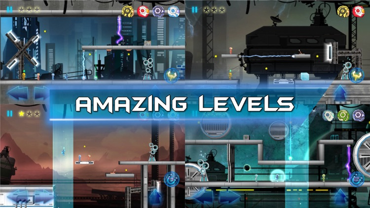 Robot Bros Gravity screenshot-3