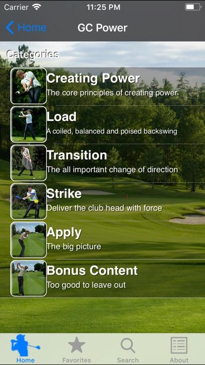Golf Coach Power screenshot-4