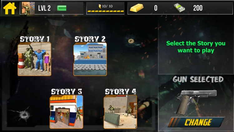 Modern Strike Commando FPS