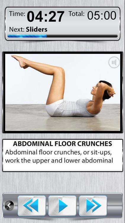 Belly Fat Workout 10 Minute Ab screenshot-0