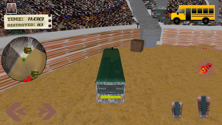 School Bus Derby Crash Racing screenshot-3