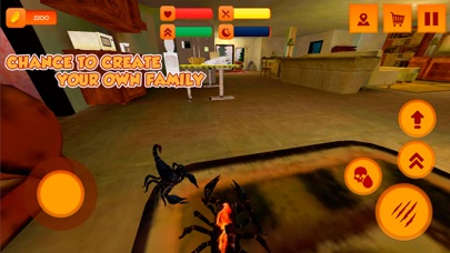 Scorpion Home Pet Simulator 3D Screenshot on iOS
