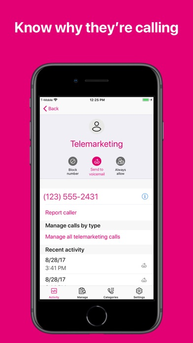 T-Mobile Scam Shield screenshot 2