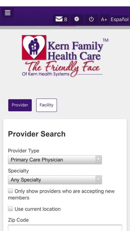 Kern Family Health Care LINK screenshot-4