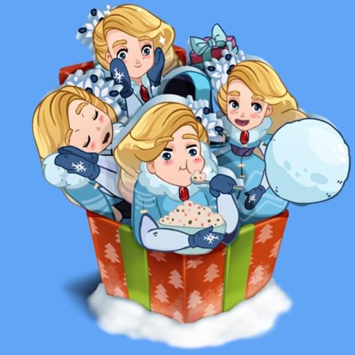 Snow Queen STiK Sticker Pack