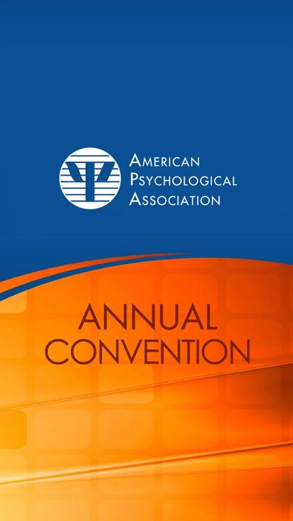 APA Annual Convention