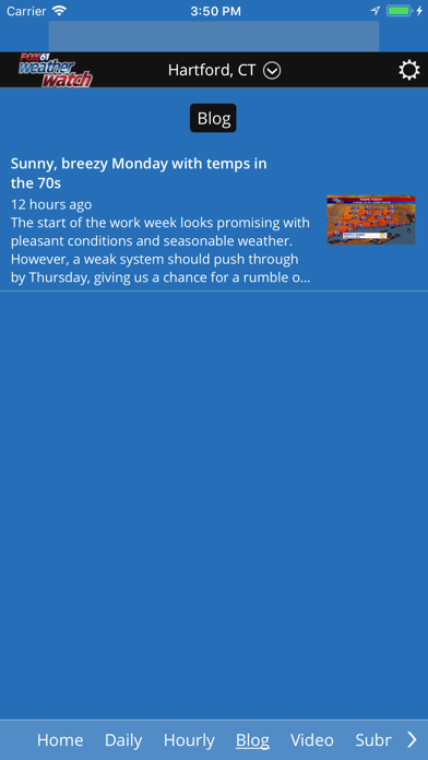 Fox61 Weather Watch on the App Store - iTunes - Apple