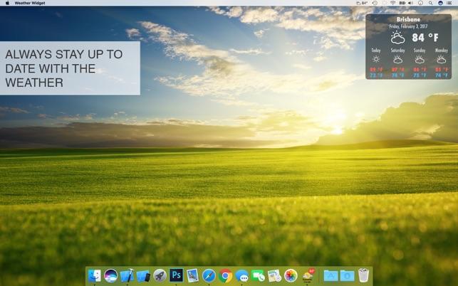 Weather Widget Desktop on the Mac App Store