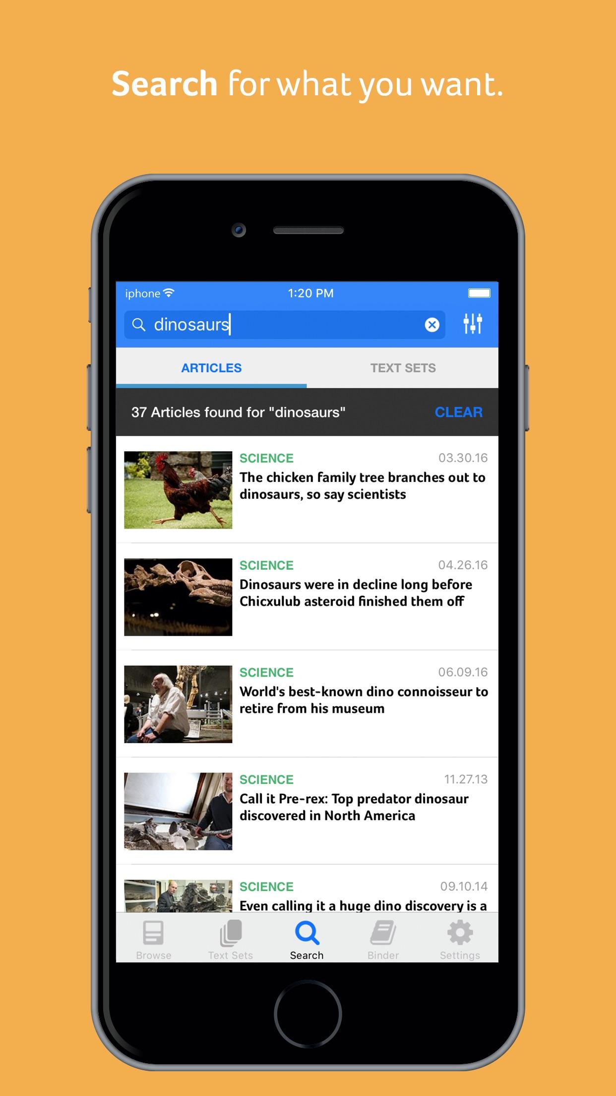 Newsela Screenshot