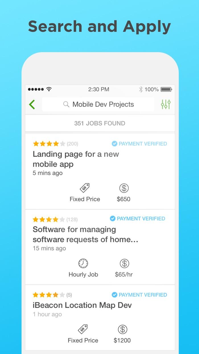Upwork Screenshot