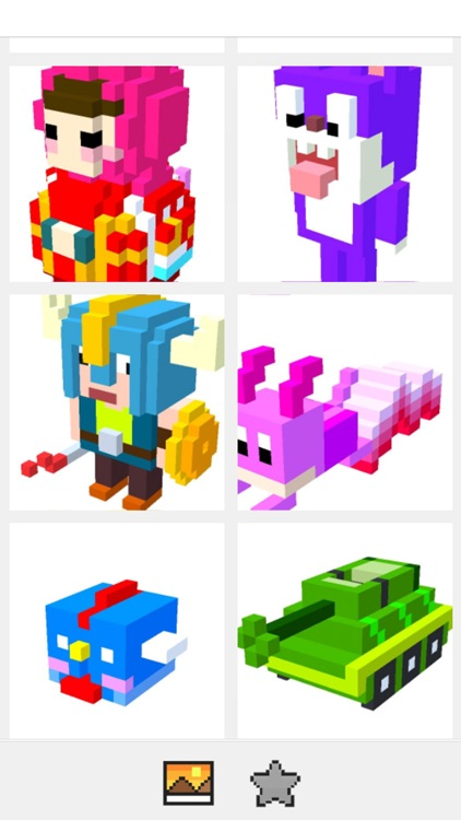Voxel Art 3D - Color by number