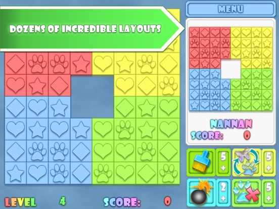 Fitz: Match 3 Puzzle (Full) screenshot 3