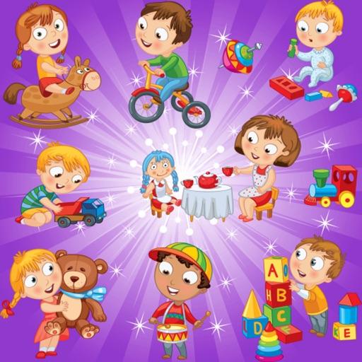 記憶遊戲 為幼兒和孩子們的玩具