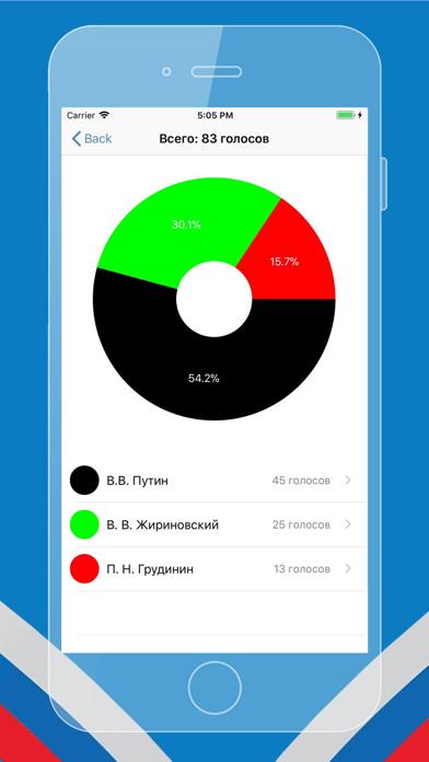Выборы 2018 для ВК Скриншоты5