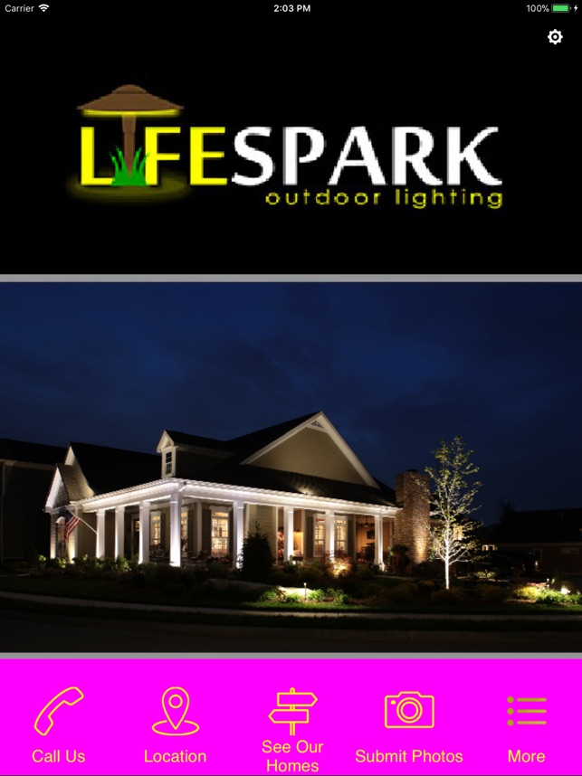 Lifespark outdoor lighting on the app store