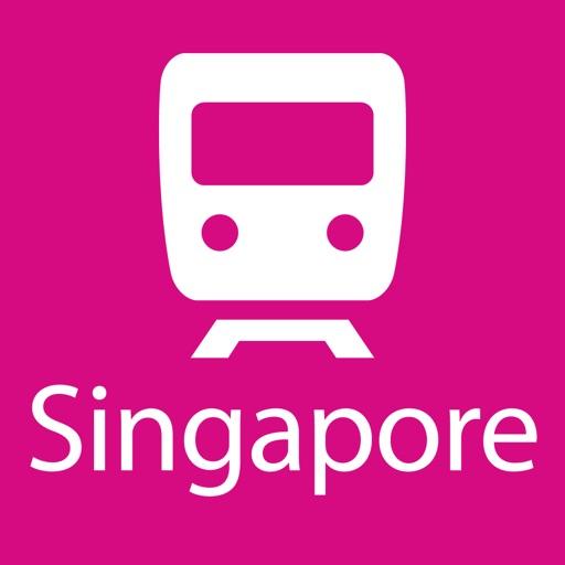 シンガポール路線図 Lite