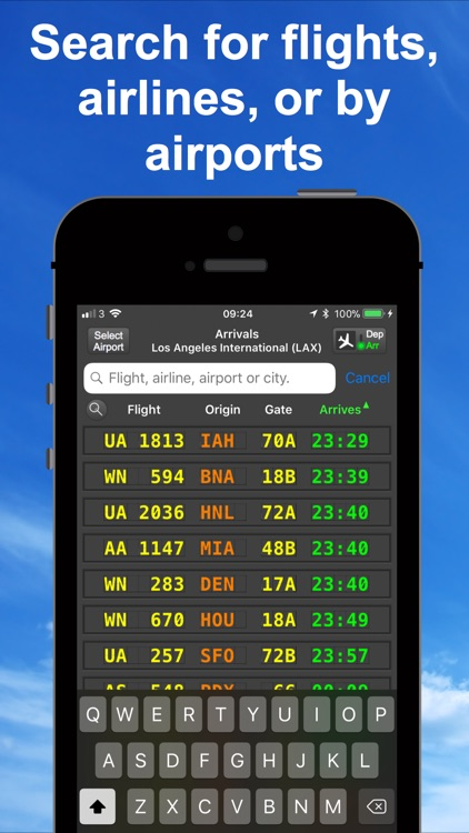 mi Flight Board Pro & Tracker screenshot-3